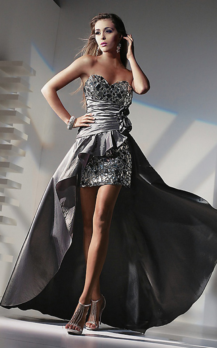 Alyce Black Label 5432 High Low Dress
