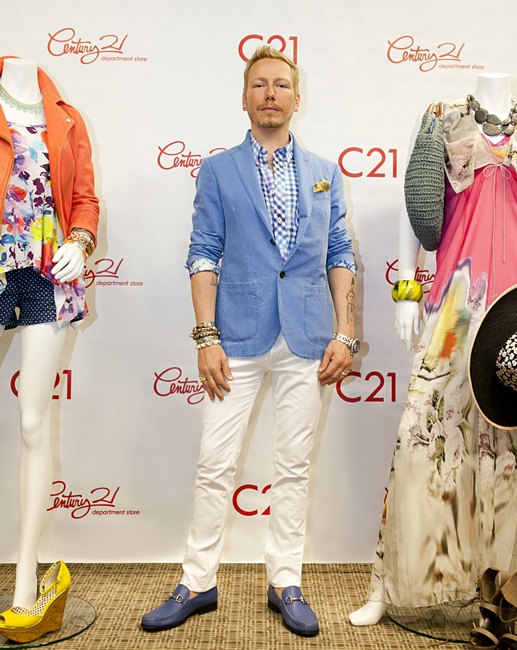 Celebrity Stylist Eric Daman Is Century 21 Department Stores Newest Brand Ambassador