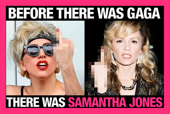 before there was gaga there was samantha jones