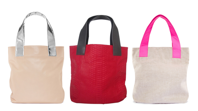michelle-vale-totes-hot-pink-beige-red-python